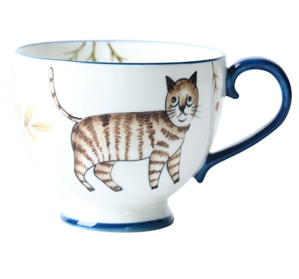 picture of a handpainted coffee mug 11