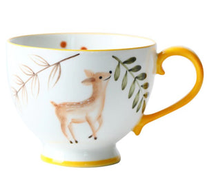 picture of a handpainted coffee mug 13