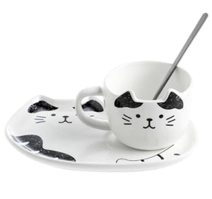 picture of a fancy cat coffee mug 4