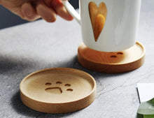 Load image into Gallery viewer, wood coasters on a table 3