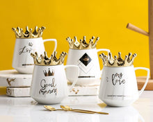 Load image into Gallery viewer, crown mug white11