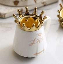 Load image into Gallery viewer, crown mug white01