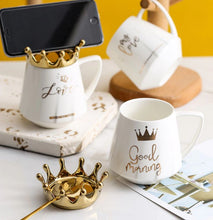 Load image into Gallery viewer, crown mug white04