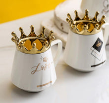 Load image into Gallery viewer, crown mug white06