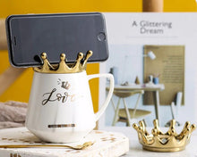 Load image into Gallery viewer, crown mug white10
