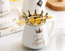 Load image into Gallery viewer, crown mug white02