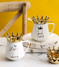 Load image into Gallery viewer, crown mug white09