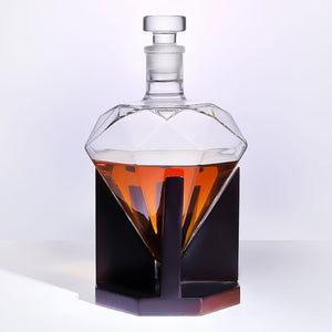 Diamante - Whisky Decanter (1 Set)