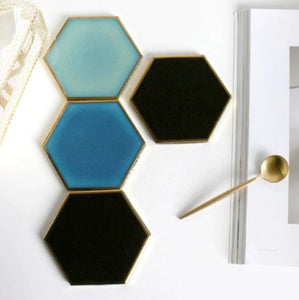 ceramic coasters on a table 4