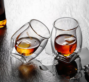 The Equilibrist - Elegant Whisky Glass (1 Set)