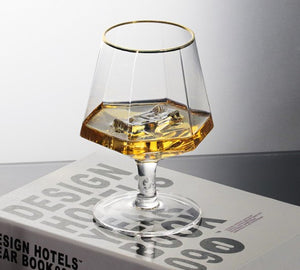 The Hexagonal - Whisky Glass