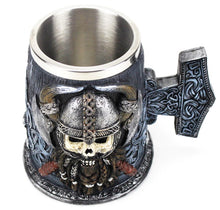 Load image into Gallery viewer, picture of a viking beer mug 2
