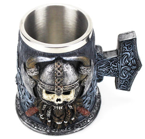 picture of a viking beer mug 2