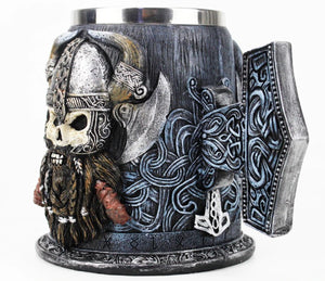 picture of a viking beer mug 3