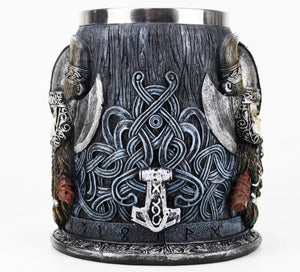 picture of a viking beer mug 5