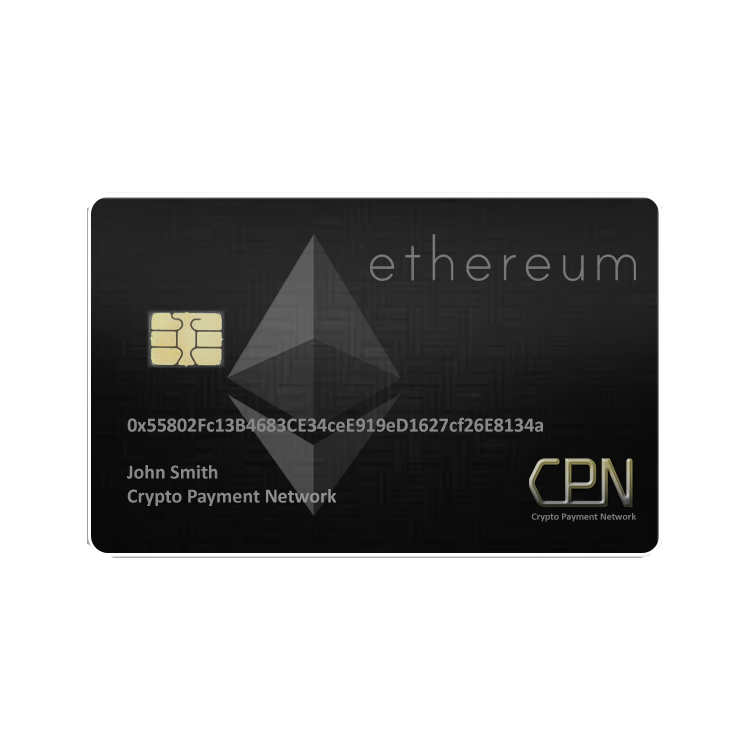 Ethereum Debit Card