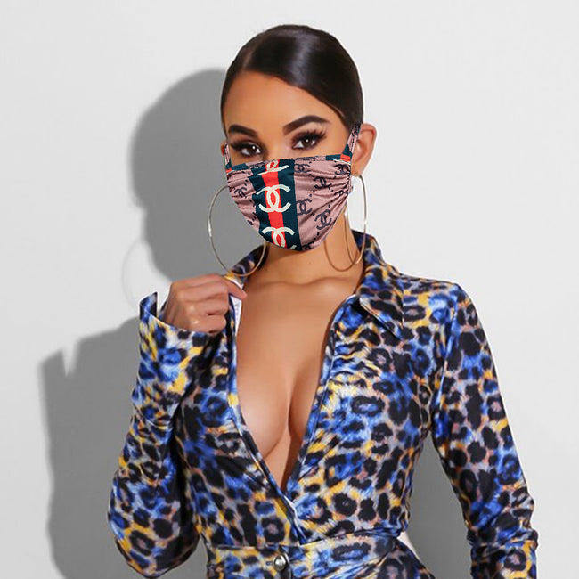 PansyGal Printed Face Mask