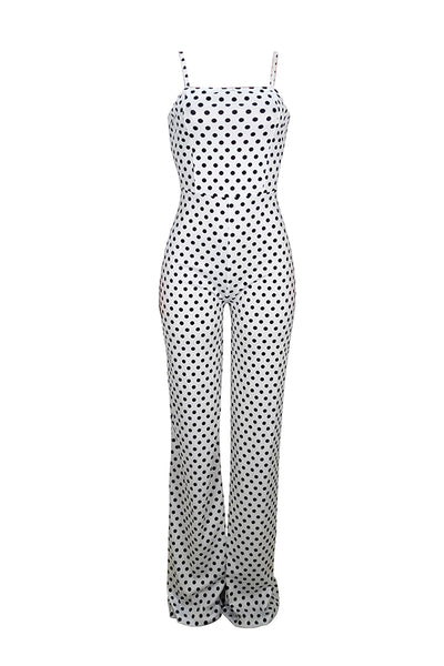 PansyGal Sexy Dots Printed One-piece Jumpsuit