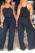 PansyGal Casual Loose One-piece Jumpsuit