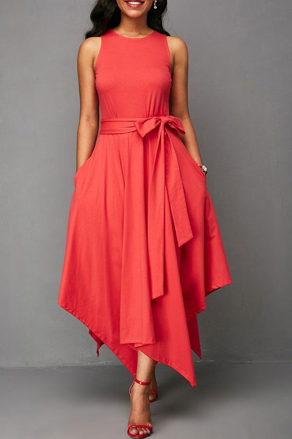 Red Ankle Length Dresses – PansyGal