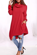 PansyGal Hooded Collar Long Knitting Hoodies
