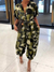 PansyGal Camo Button-Front Jumpsuit