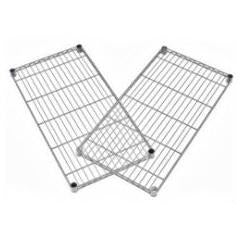 "OFM Outlet Extra Wire Shelves For Heavy-Duty Storage Units, 1""H x 48""W x 24""D, Silver"