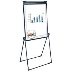 "OF4S Brand Silver Presentation Easel, 33"" x 38"""