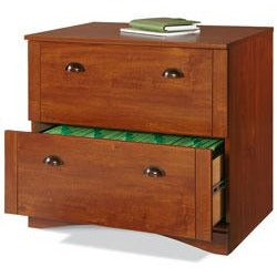 "Realspace Outlet Dawson 2-Drawer Lateral File Cabinet, 29""H x 30 1/2""W x 21 3/4""D, Brushed Maple"