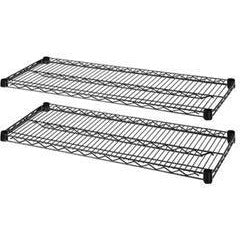 Lorell Outlet Industrial Adjustable Wire Shelving, Extra Shelves, 36