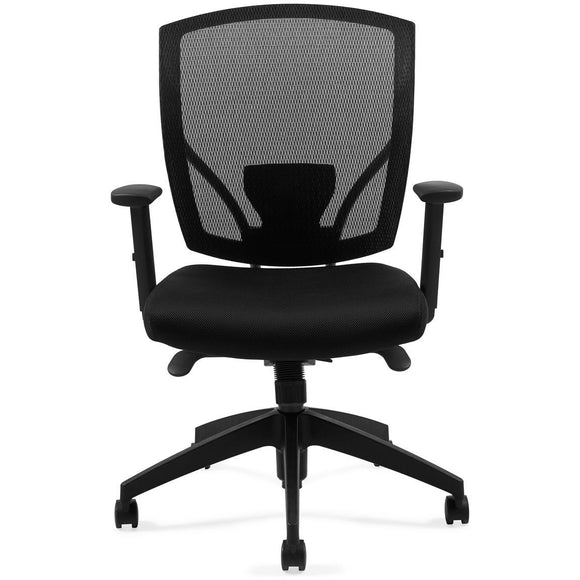 Offices To Go Mesh Synchro-Tilter Mid Back Chair, 27