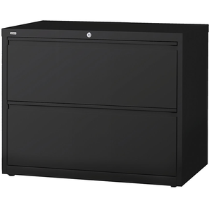 "(Scratch & Dent) Realspace PRO Steel Lateral File, 2-Drawer, 28""H x 36""W x 18 5/8""D, Black"