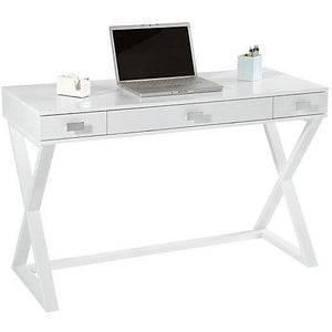 See Jane Work Outlet Kate Writing Desk, White