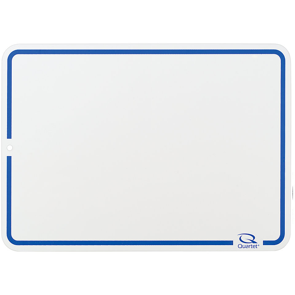 Quartet Outlet Education Dry-Erase Lap Whiteboards With Quartet Marker, White, Unlined