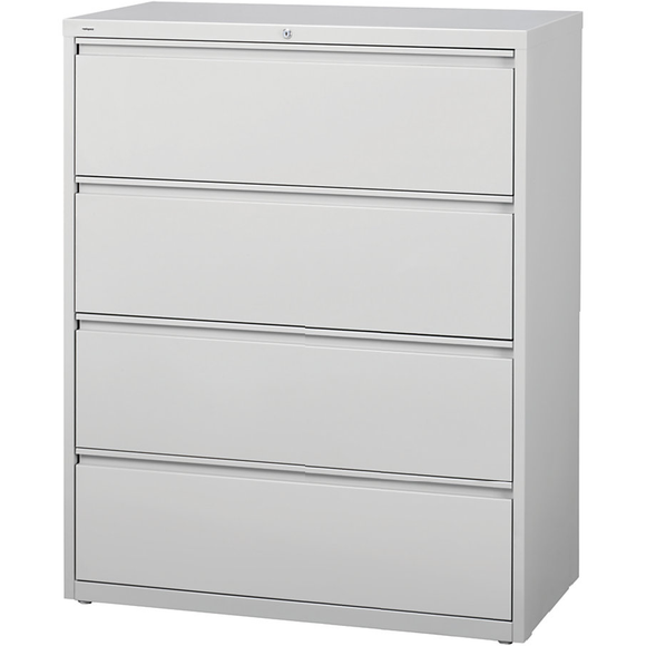 (Scratch & Dent) Realspace PRO Steel Lateral File, 4-Drawer, 52 1/2