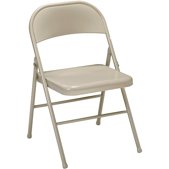 Realspace Outlet Metal Folding Chairs, 30 1/2