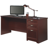 "(Scratch and Dent) Magellan Performance Outlet Collection Executive Desk, 30""H x 70 9/10""W x 23 1/4""D, Cherry, 850038"