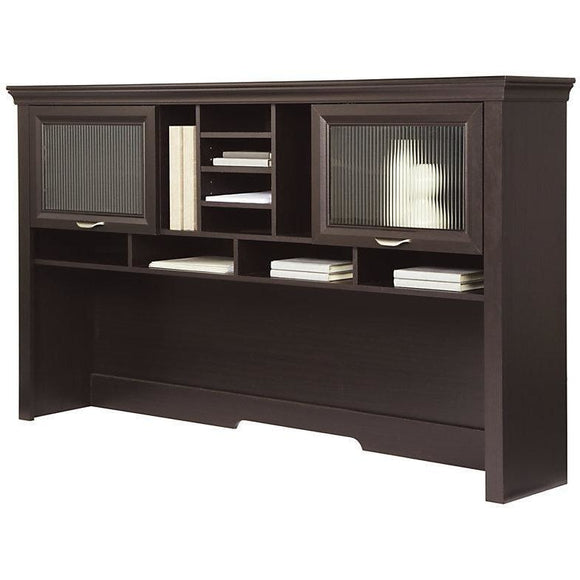 (Scratch and Dent) Hutch, Espresso, Realspace Magellan Outlet Performance Collection, 40 1/2