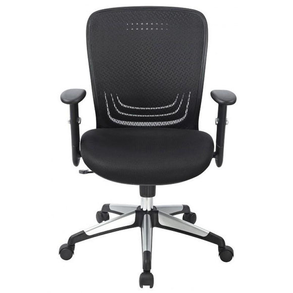 Chiarezza Ortego-Flex Ergonomic Task Chair, Black