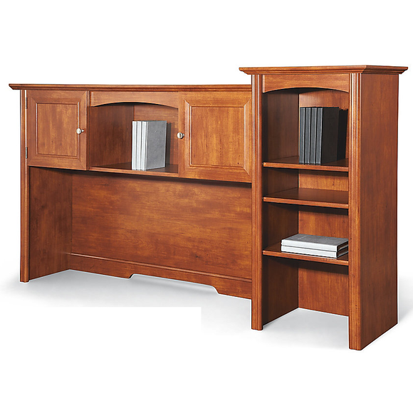 Realspace Outlet Broadstreet Hutch For U-Shaped Desk, Maple