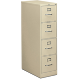 HON 310-Series 4-Drawer Letter File, Putty