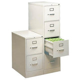 (Scratch & Dent) HON 310 Series 4-Drawer Letter File, Light Gray