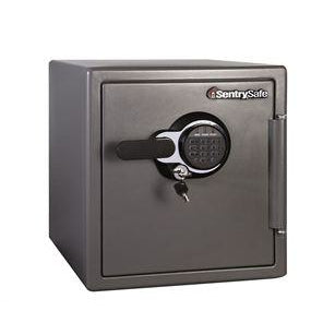 (Scratch & Dent) Sentry Safe Electronic Fire-Safe, 1.23 Cubic Foot Capacity, Gunmetal
