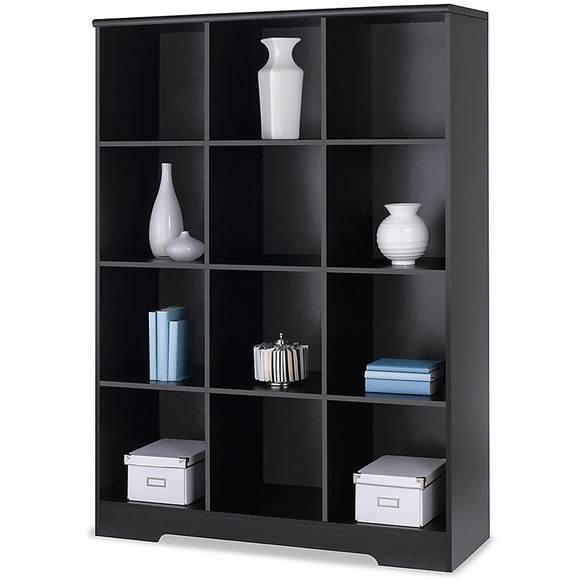 Realspace Magellan Outlet  12-Cube Bookcase, 63 9/16