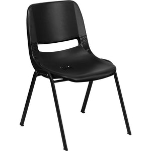 Samson Series 880 lb. Capacity Ergonomic Shell Stack Chair