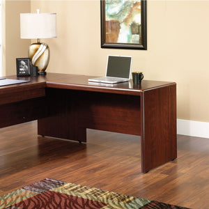 Sauder Cornerstone Outlet Collection 48'' Desk Return, 30''H x 48''W x 24''D, Classic Cherry