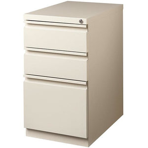 "(Scratch & Dent) Realspace PRO Mobile Pedestal File, 27 3/4""H x 15""W x 22 7/8""D, 30% Recycled, Putty"