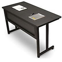 "OFM Modular Outlet Training Table, 29 1/2""H x 55""W x 24""D, Graphite"