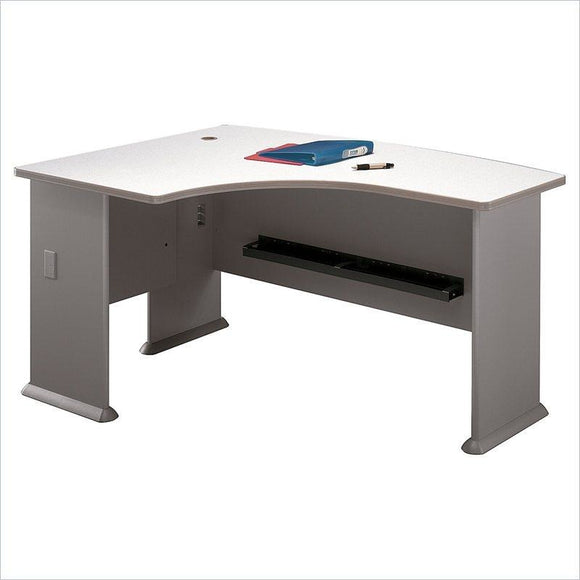 (Scratch & Dent) Bush Business Furniture Outlet Office Advantage L Bow Desk Left Handed, 60