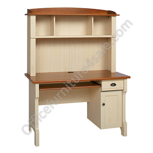 Christopher Lowell Outlet Shore Mini Solutions Workcenter, 63 1/4''H x 47 1/2''W x 23 1/2''D, Antiqued White